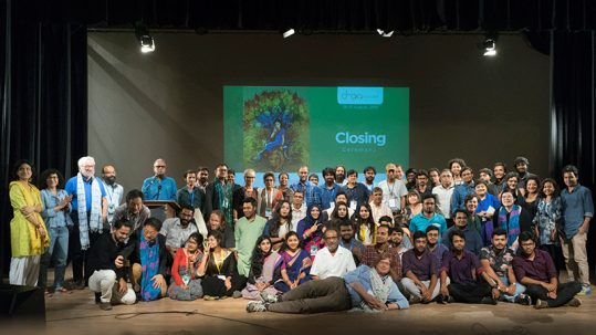 Group shot of Dhaka Doc Lab Participants and Mentors