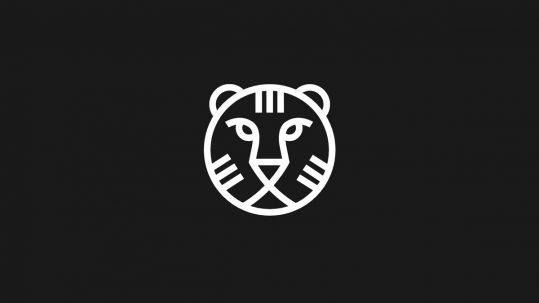 IFFR logo of a line drawn lions head