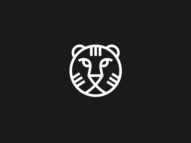 IFFR logo of a line drawn lions head